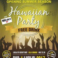 Hawaiian Party – Free Drink – 1 luglio 2017
