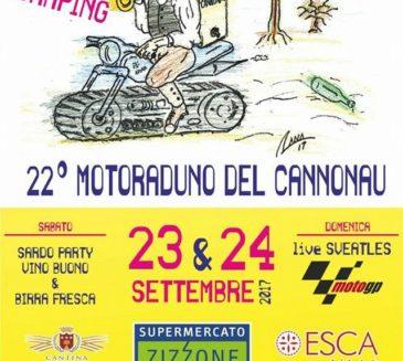 22° Motoraduno del Cannonau – 23 e 24 settembre 2017 Cala Gonone Dorgali