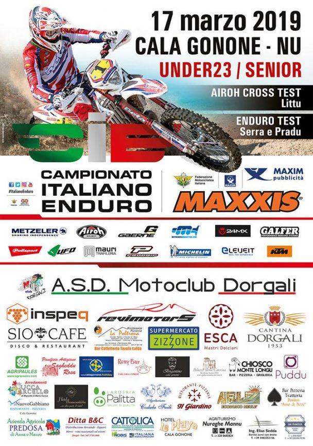 Under23/Senior Enduro – Round 1 – 15/16/17 marzo 2019 Cala Gonone Dorgali