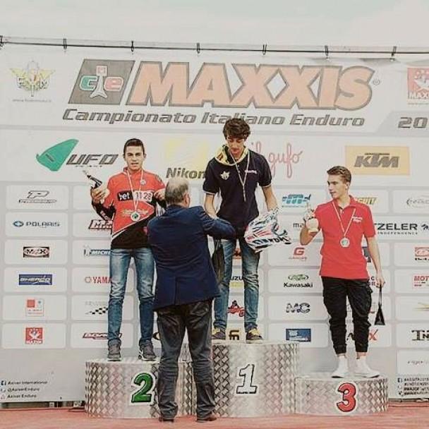 Team Italia Enduro. Un buon secondo posto per Claudio Spanu, a soli sei secondi da Verona
