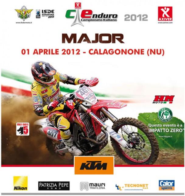 Campionato Italiano Enduro-Major – 1° aprile 2012 Cala Gonone