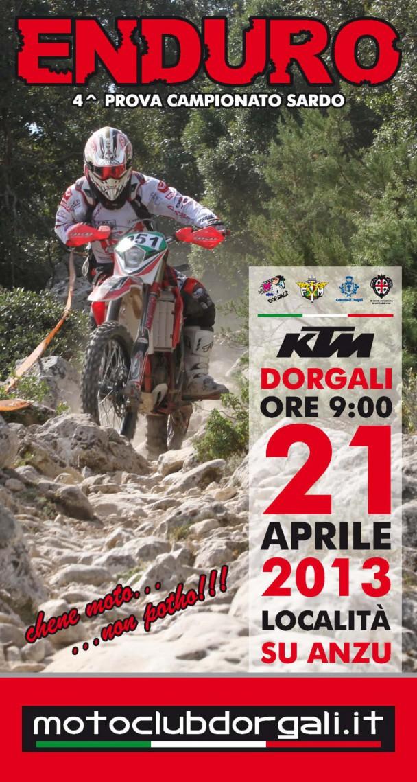4a prova Campionato Sardo Enduro – Dorgali 21 aprile 2013